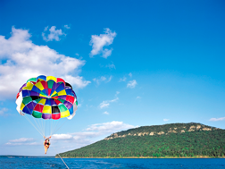 Parasailing on Greers Ferry Lake