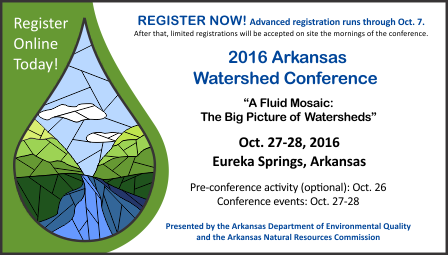 2016 Watershed Conference Banner