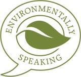 Environmentally Speaking logo