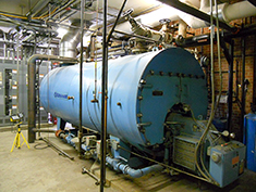 Boiler at Industrial Facility