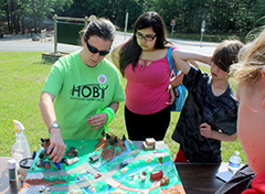 Students learn about stormwater pollution at Make A Splash