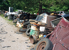 Salvage Yard debris