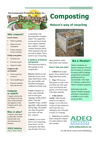 Composting - Nature's Way of Recycling