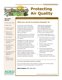 Protecting Air Quality